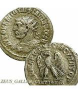 PHILIP I left, Medusa Gorgon Aegis on chesst RARE Tetradrachm Ancient Ro... - $161.10