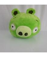 "Angry Birds Plush Pig Stuffed Animal Bird Toy Bad Piggies 8"" Green Rovio... - $19.79"