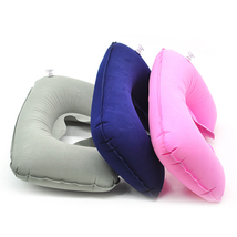 Inflatable U Shaped Travel Pillow Neck Car Head Rest Air Cushion for Tra... - $4.07