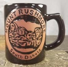 Mount Rushmore, South Dakota Presidents Black Hills Souvenir Pottery Cof... - $14.80