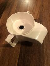 Cuisinart Little Pro Plus Tx Food Processor Replacement Part Chute Work Bowl - $19.79