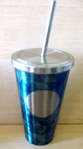 Starbucks 2014 Dot Collection Jade Mosaic Cold Cup Tumbler with straw/16 oz - $32.00