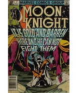 Moon Knight Marvel Comics Vintage Bronze Age May 1981 #7 B.Sienkiewicz U... - $7.99