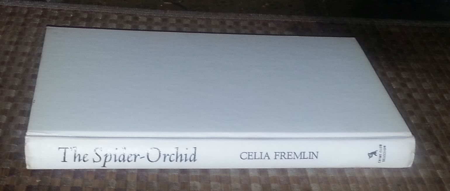 The Spider-Orchid by Celia Fremlin 1978 HBDJ Part Time Mistress