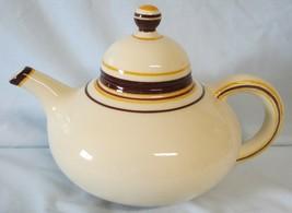 Franciscan Padua Cream and Brown Teapot - $76.12