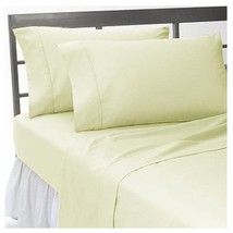 Extra Deep POCKET 1000 TC 1 pc Fitted Sheet Egyptian Cotton All Size IVO... - $41.01+