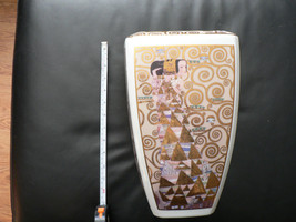 Klimt the Kiss porcelain vase by Goebel limited edition with certificate... - $118.80