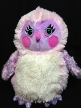 Ganz Webkinz Whooo La La Owl Pink Plush Iridescent Soft Toy HM752 -NO CO... - $24.99