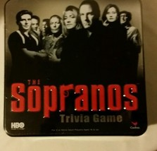 The Sopranos Trivia Game 2004 Board Game Cardinal Ind. Hbo Tv Series Nib - $18.99