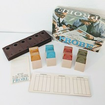 Vintage Probe Game Of Words Complete Board Game Classic 1964 Parker Brothers - $37.72