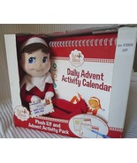 ELF on the SHELF PLUSH DOLL & ADVENT ACTIVITY PACK 25 DAY FUN CALENDAR NEW - $14.99