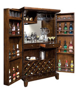 Howard Miller 695-122 (695122) Rogue Valley Wine & Bar Cabinet - Rustic ... - £2,050.65 GBP