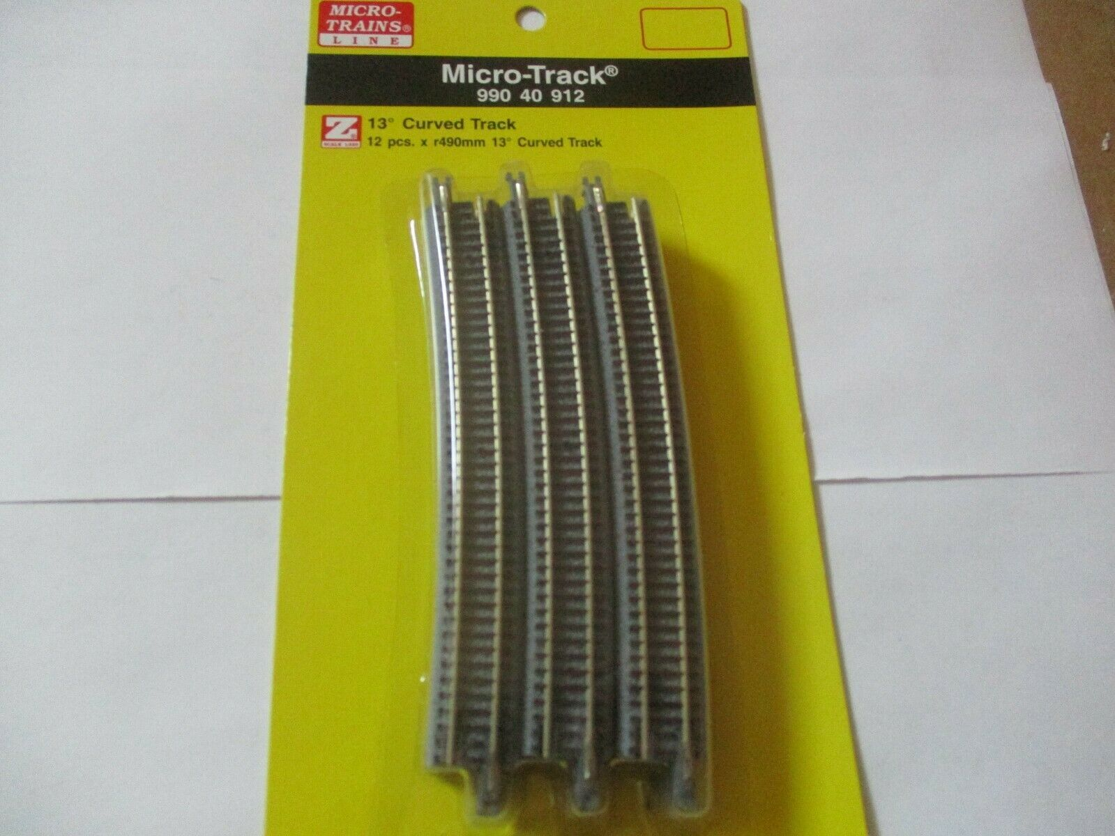 Micro-Trains Micro-Track # 99040912 Track Curved R-490MM 13 Degree  Z-Scale
