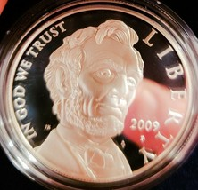 2009  Lincoln Silver Round *D CAMEO * Cent  Wheat Penny . COA - $53.90