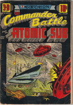 Commander Battle and the Atomic Sub Comic Book #1, ACG/TITAN 1954 GOOD+ - $72.48