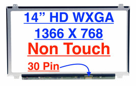 Lcd Panel For Acer Aspire One Cloudbook AO1-431-C8G8 Lcd Screen 14.0 1366 X 768 - $91.99