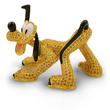 Disney Parks Limited Pluto Jeweled Figurine by Arribas Brothers New with... - $601.81