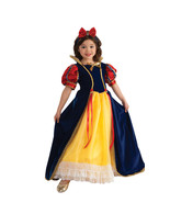 Rubies Enchanted Princess Snow White Deluxe Yellow Polyester Gown Costum... - £34.20 GBP