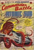 Commander Battle and the Atomic Sub Comic Book #2, ACG/TITAN 1954 FINE+ - $150.85