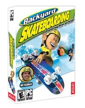 Backyard Skateboarding - PC [video game]
