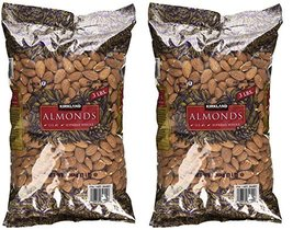 Kirkland Signature Supreme Whole Almonds, 2 Pack (3 Pounds) - $48.50