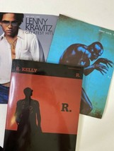 R. Kelly, Seal, Lenny Kravitz Piano/Vocal/Chords Song Books Lot of (3) - $24.74
