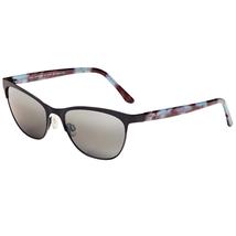 Maui Jim Popoki 729-02Ms Satin Black Polarized Sunglasses - $176.48