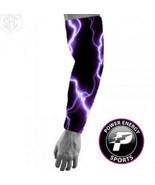 Titanium  Sports Compression Baseball Dri-Fit  Arm Sleeve (Purple Lightn... - $8.99