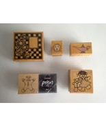 Rubber Stamps Your Choice 5 Designs  - $2.62+