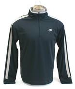 Nike Dark Gray Long Sleeve 1/4 Zip Pullover Shirt Men's Large L NWT - $49.49