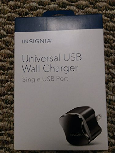 Insignia NS-AC1U2N USB Wall Charger - Black image 1