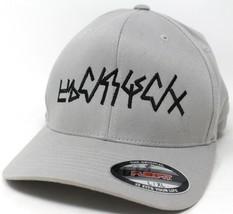 Bright Netflix Movie Crew Orcs Gray Flexfit L/XL Hat Baseball Cap New Ve... - $27.90