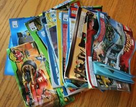 Lego Instruction Manuel Lot de Livrets Ninjago Star Wars Marvel Chima Bob - $59.39