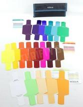 Rogue Flash Gels Combo Lighting Kit Filters Set of 19 Missing 1/2 CTB - $16.82