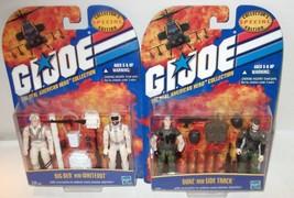 MISP LOT ✰ 2000 Hasbro GI Joe Collectors Big Ben Whiteout Duke Sidetrack... - $45.00