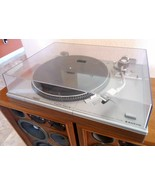 Sanyo TP1012 Direct Drive Turntable & ADC Cartridge No Needle, See video! - $116.53