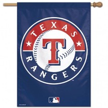 Texas Rangers Banner 28x40**Free Shipping** - $33.24