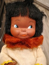 Vintage 1965 Earle Pullan Indian Eskimo Girl Doll Canada - $49.49