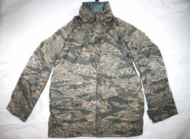 GENUINE USAF APECS ABU GORE TEX TIGER STRIPE ALL PURPOSE PARKA - MEDIUM ... - $103.95