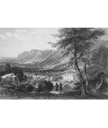 ITALY Waldensian College Piedmont Val Lucerne - 864 Fine Quality Print E... - $39.60