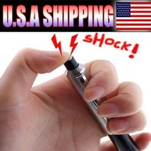 50 PCS Shocking Electric Shock Novelty Metal Pen Prank Trick Joke Gag WH... - $43.06