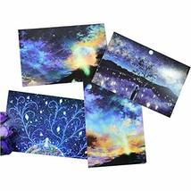 Painting Postcard Collection Set Hand Starry Series Greeting Card Set of 8 - $16.33