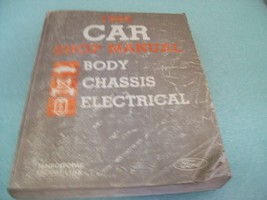 Orig 1986 FORD CAR SHOP MANUAL Body Chassis Electrical Tempo Topaz Escor... - $8.90