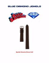 Speidel Lds.12mm Brown Genuine Stitched Calf Watchband-166431-CLOSEOUT P... - $12.99