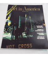 Art In America Back Issue Magazine May 1989  Tilted Arc Cover - $16.74