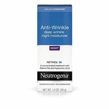 Neutrogena Ageless Intensives Anti-Wrinkle Retinol Cream with Hyaluronic Acid -  - $14.01