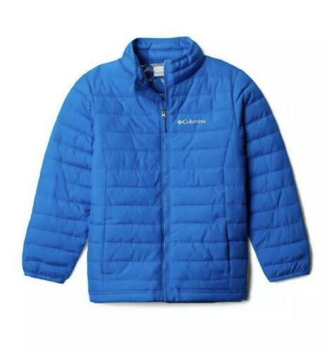 Primary image for COLUMBIA Big Boy PUFFER THERMAL OMNI HEAT Thermal POWDER LITE JACKET SIZE L