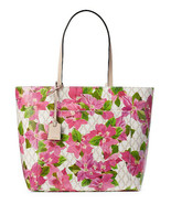 Floral riley leather tote kate spade 14 thumbtall