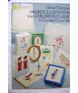 Ginnie Thompson Favorite Illustrations Childhood Classics Cross- Stitch - $8.00