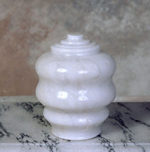 Fuji Antique White Marble Funeral Cremation Pet Urn - $169.99